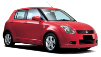 Car Rental Suzuki Swift in Murcia