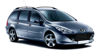 Car Rental Peugeot 307 STW in Murcia