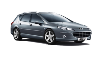 Car Rental Peugeot 407 STW in Murcia