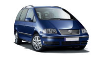 Car Rental VW Sharan in Murcia
