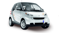 Car Rental Smart for 2 in Murcia